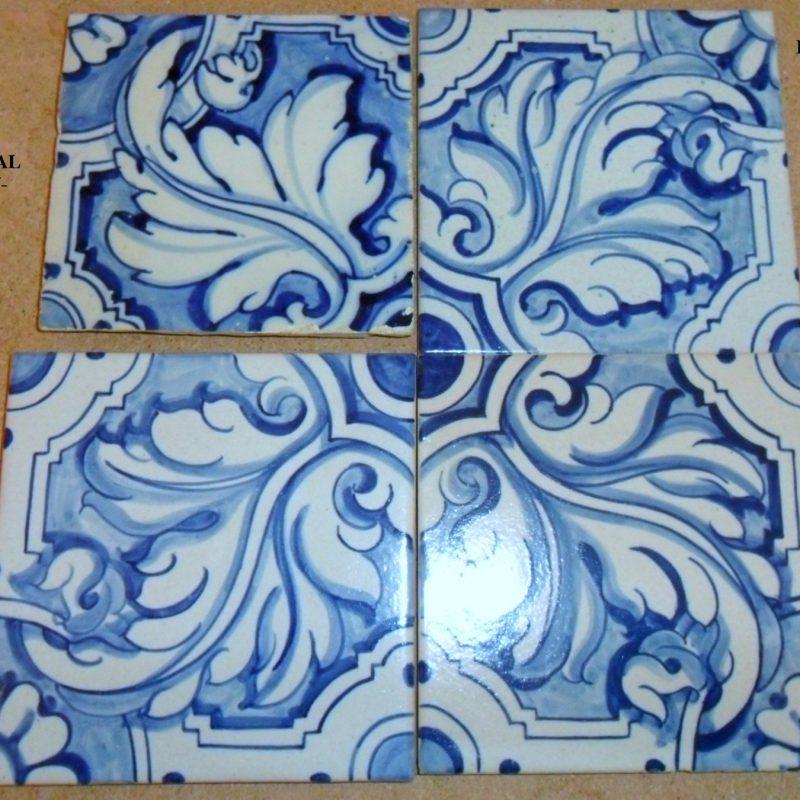 Cer mica santa catalina red de maestros for Muestrario de azulejos