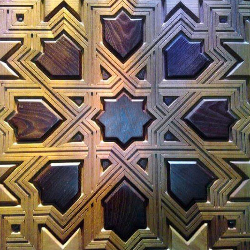 Talla madera Granada artesonados