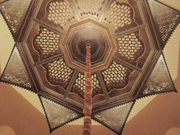 Talla madera artesonados Granada